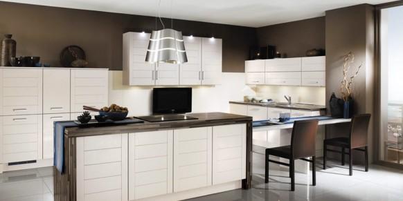 دکوراسیون چوبی ساده در آشپزخانه